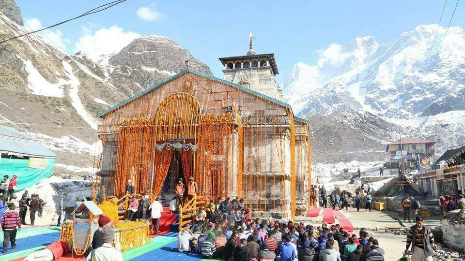kedarnath temple latest image