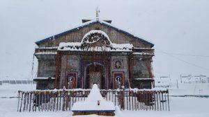 Temperature in Kedarnath