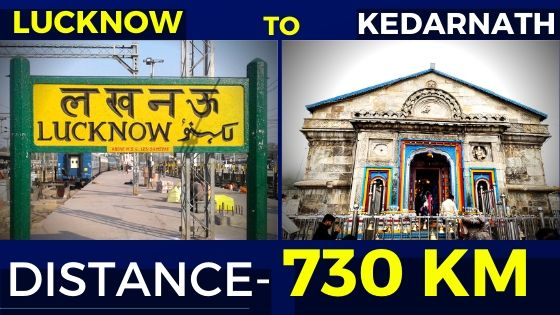 lucknow-to-kedarnath-distance