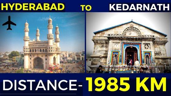 hyderabad-to-kedarnath-distance