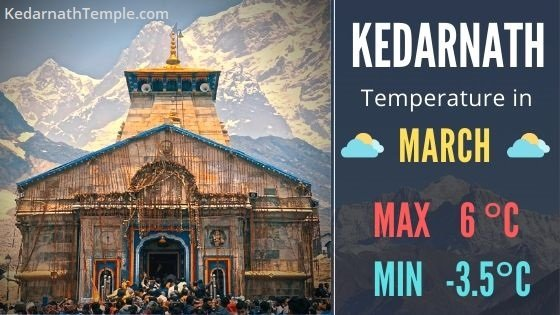 Kedarnath Temperature today