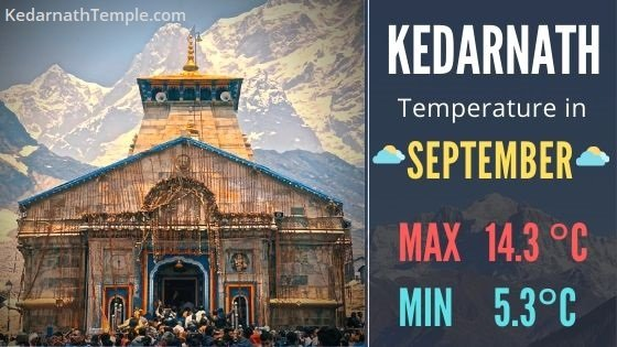 Kedarnath Temperature in September – Weather Forecast Today
